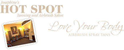 The Hot Spot Tanning Salon and Love Your Body airbrush spray tanning